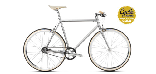 Urban Bike mikamaro Gates Carbon Drive grau
