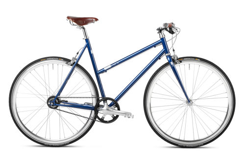Women Urban Bike blau mikamaro