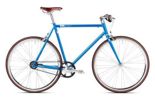 Urban Bike blau Gates Carbon Drive