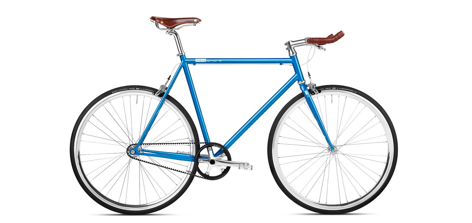 Single Speed Bike Riemen Brooks