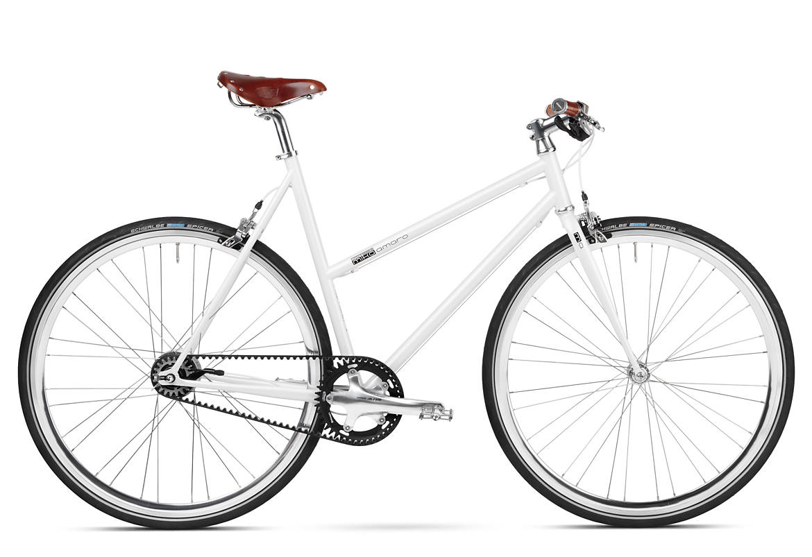 Urban Bike for Women Brooks Riemenantrieb