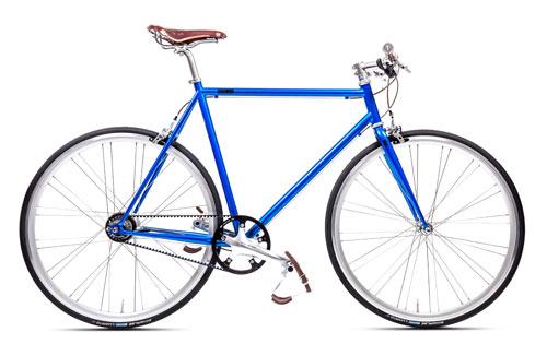 Urban Bike 8 Gang Shimano blau Gates Carbon Drive, Fahrrad mit Riemenantrieb