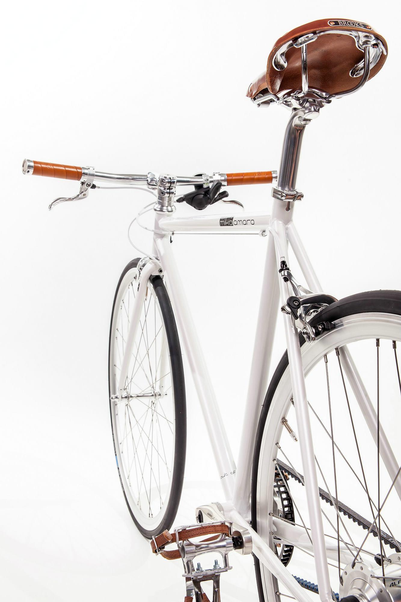Urban Bike indy white 8 Gang Riemenantrieb