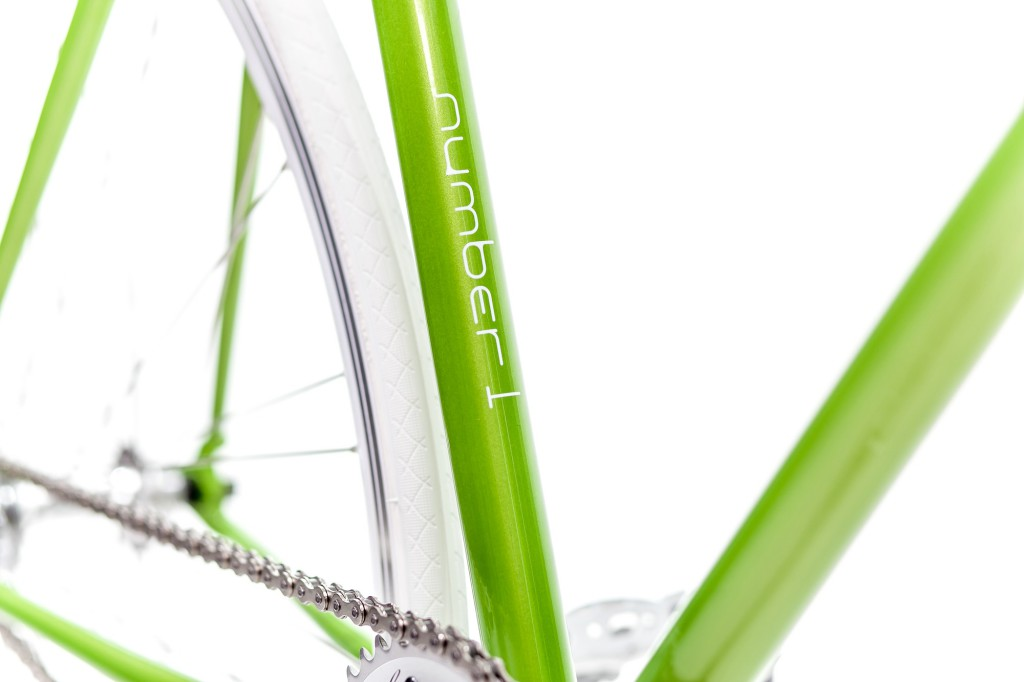 Single Speed Bike mellow green, Unikat