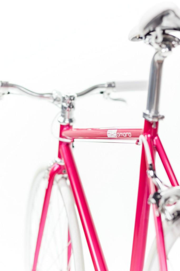 Single Speed Bike dressy pink, urban bicycle
