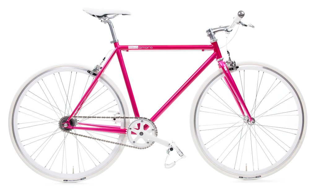 2 Speed Bike dressy pink, urban bicycle