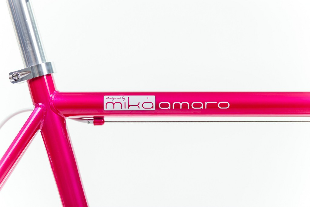 mika amaro Single Speed Bike pink
