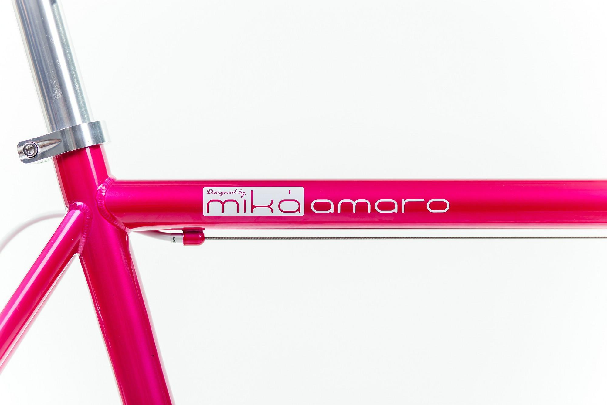 mika amaro Single Speed Bike pink