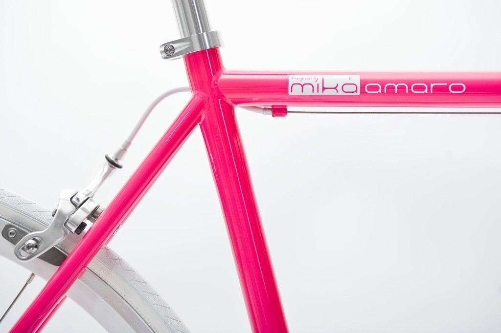 mika amaro Single Speed Bike dressy pink