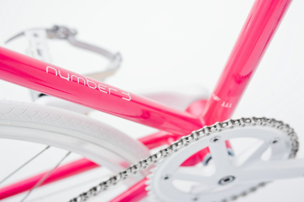 Single Speed Bike dressy pink, Unikate