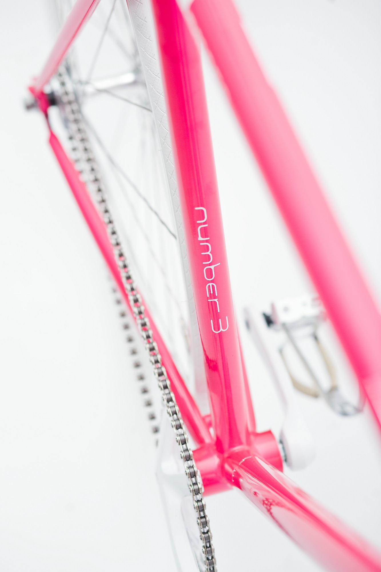 mika amaro Single Speed Bike dressy pink, limited