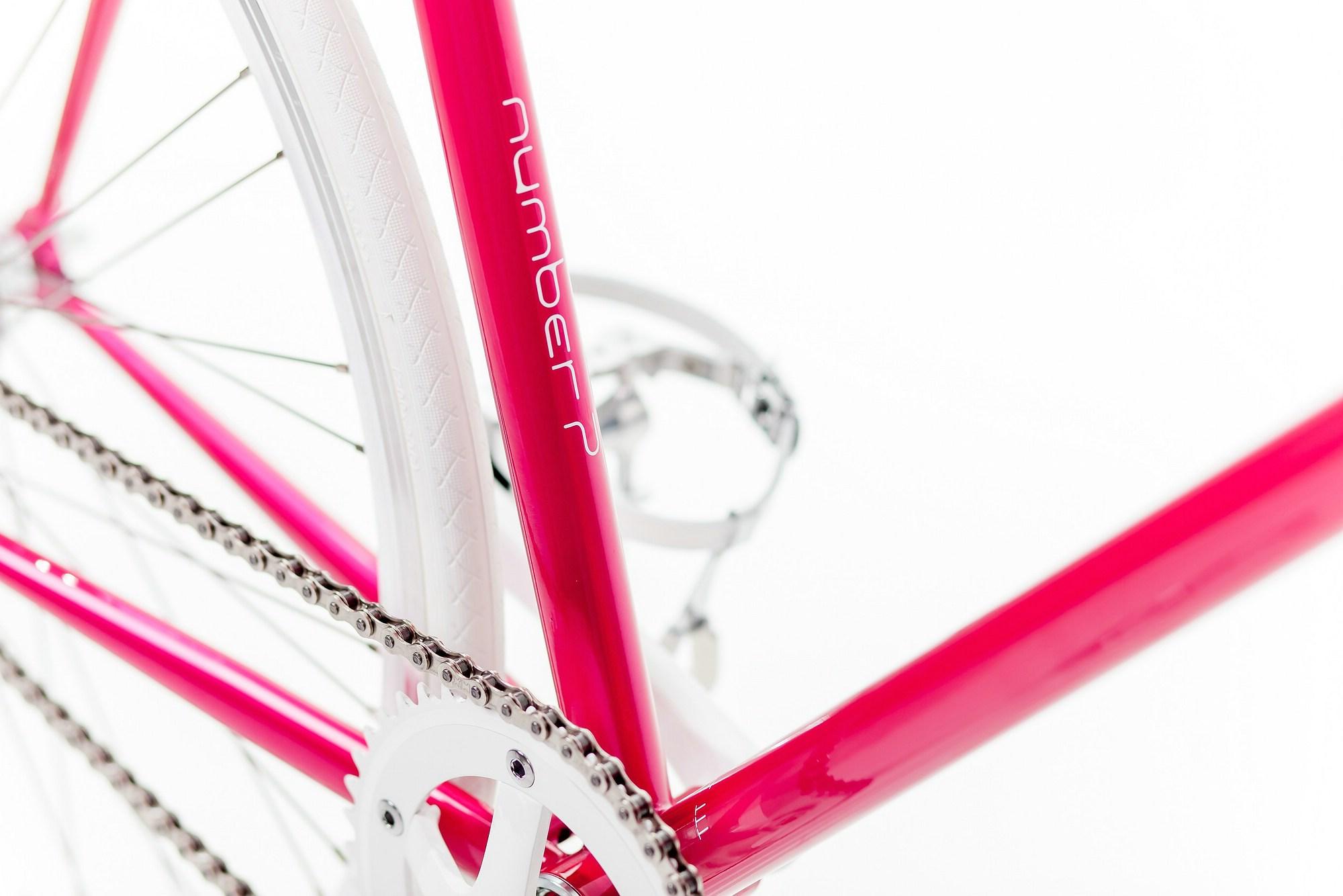 mika amaro Single Speed Bike pink, limited