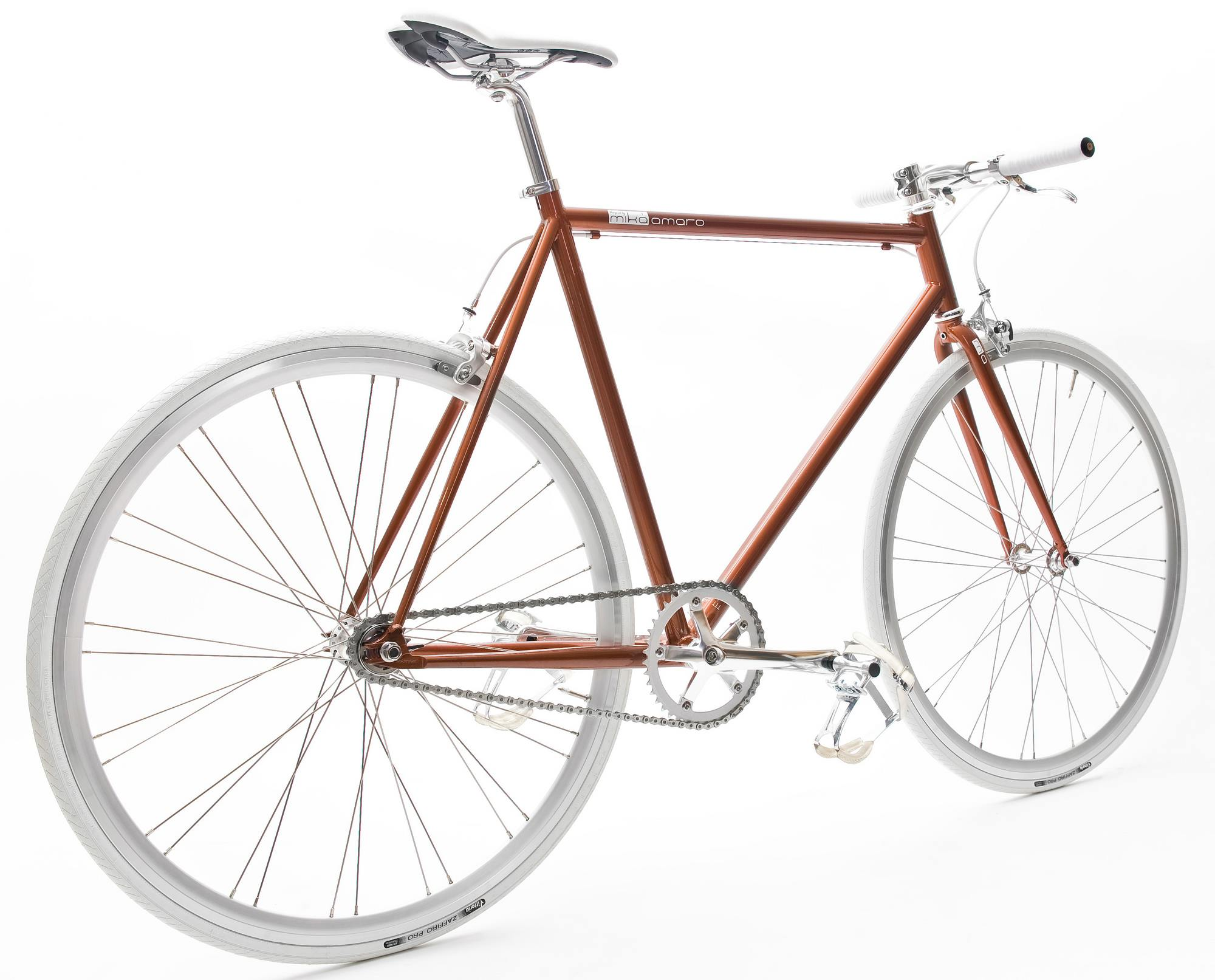 Single Speed Bike fuel brown