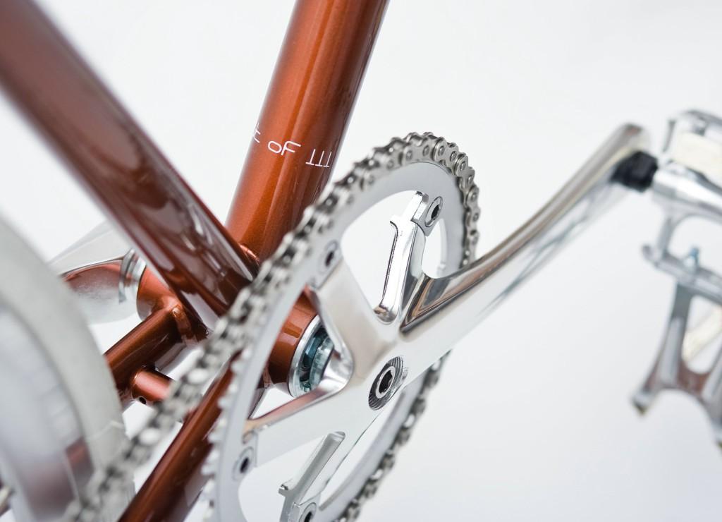 Single Speed Bike metallic brown, limited
