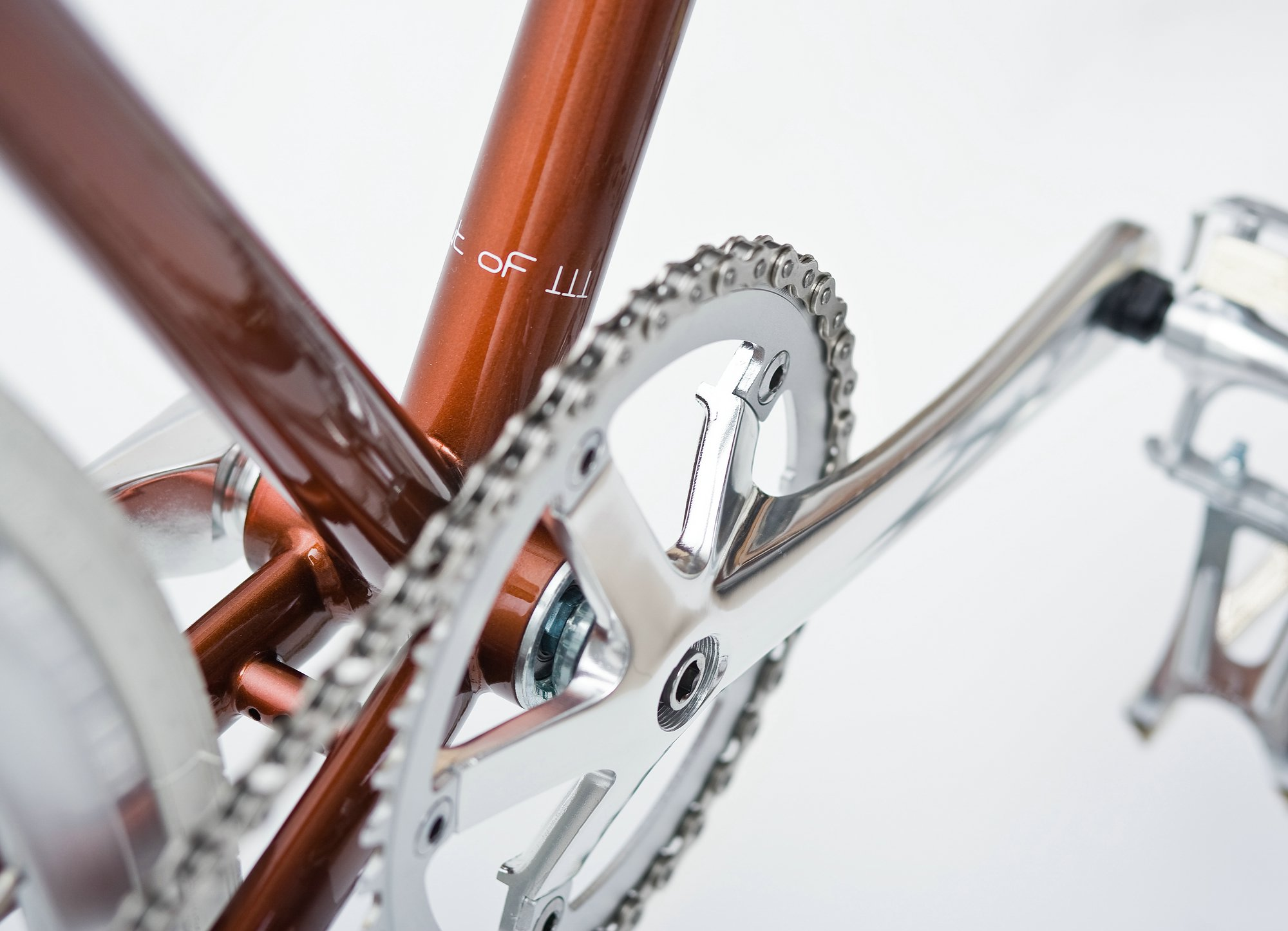 Single Speed Bike metallic brown, limited