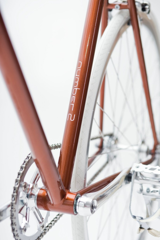 Single Speed Bike metallic brown, limited number