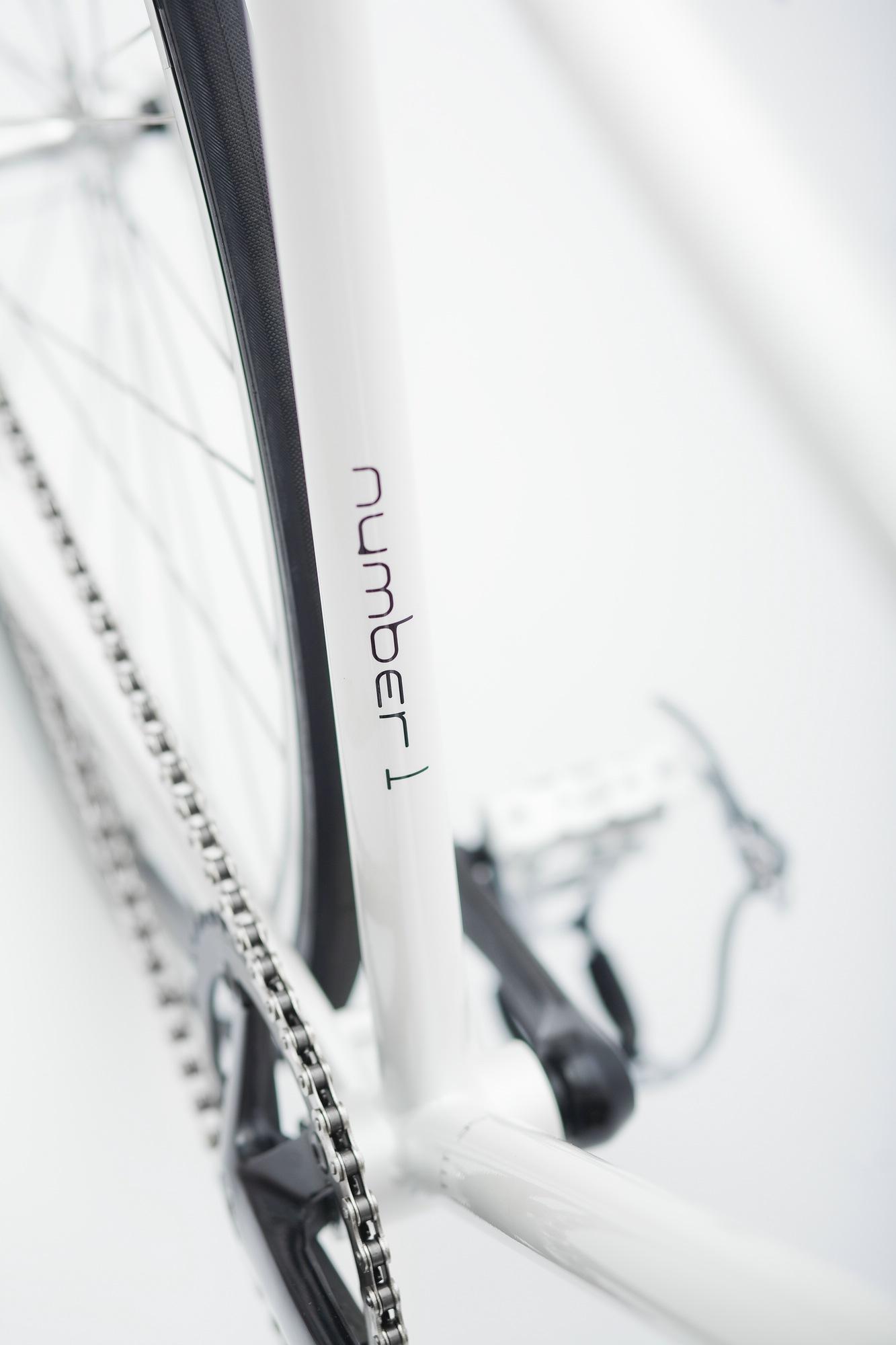 Single Speed Bike indy white, Unikate