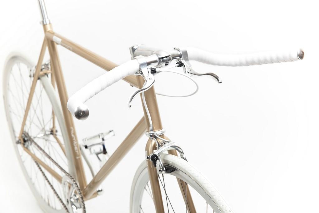 Single Speed Bike one gold, Unikat