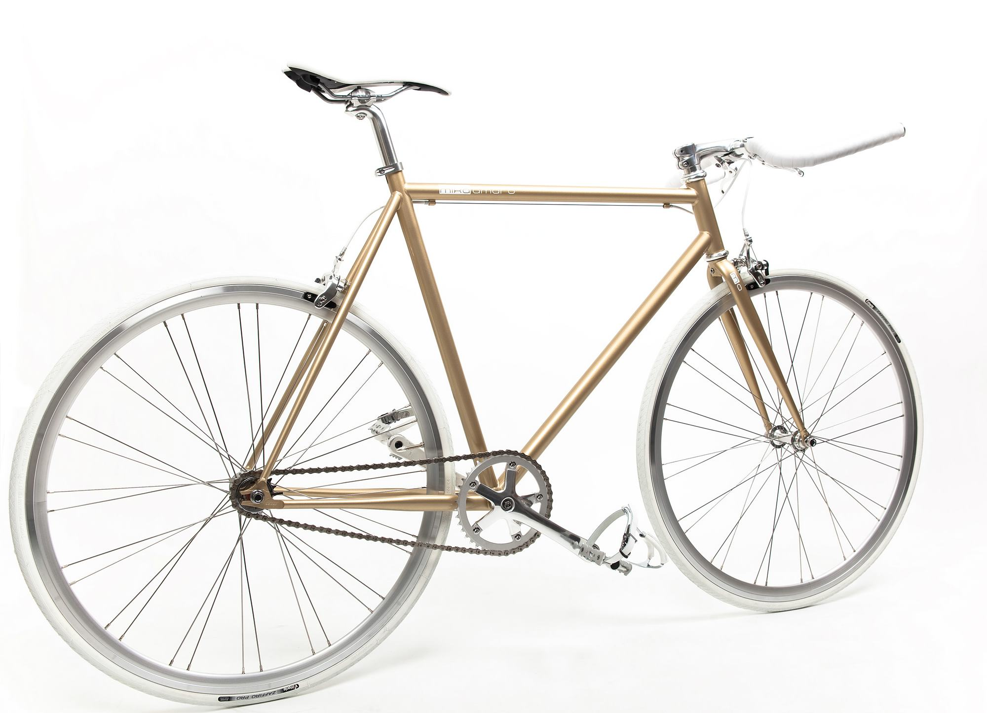 Single Speed Bike one gold, Special Edition