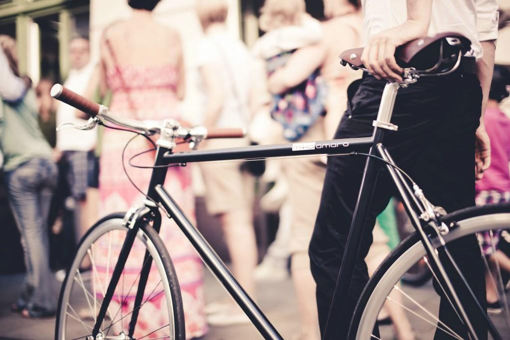 Urban Bike cushy black 3 Gang