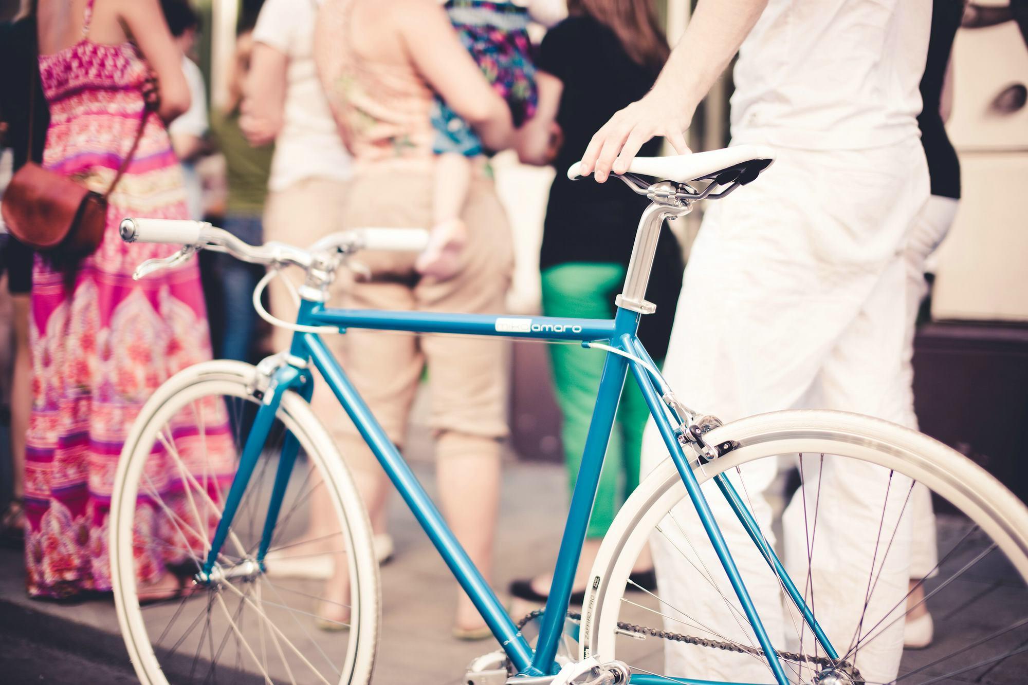 Single Speed Bike cruise turquise, türkis