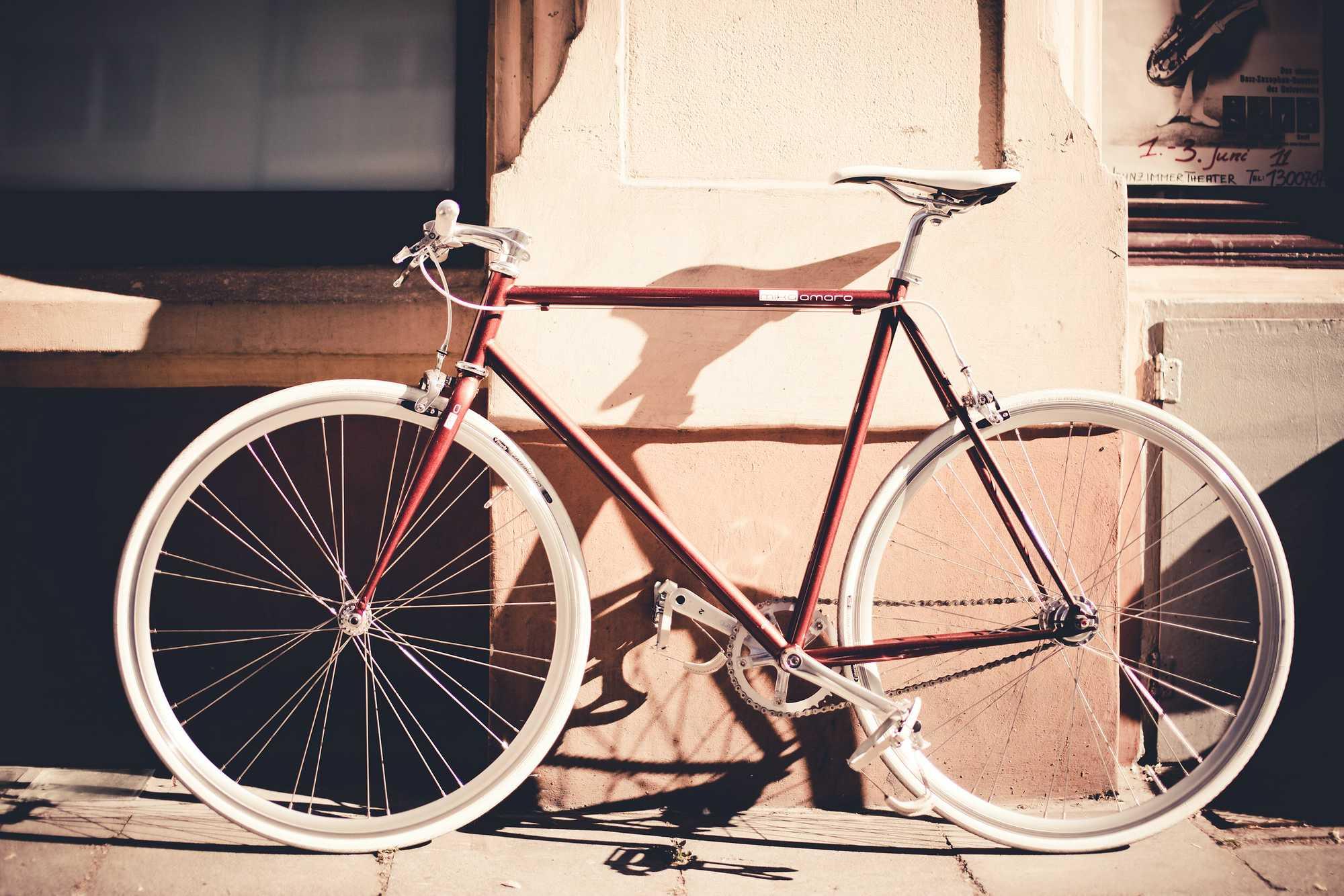 Single Speed Bike fuel brow, urban
