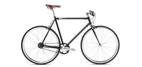 mika amaro Urban Bikes black, Riemenantrieb, Gates Carbon Drive