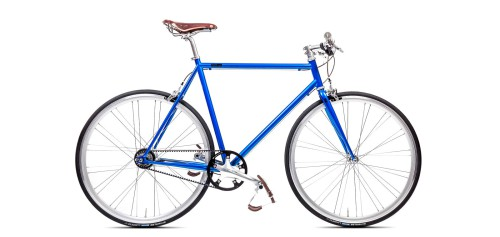 Urban Bike blue Gates Carbon Drive Shimano