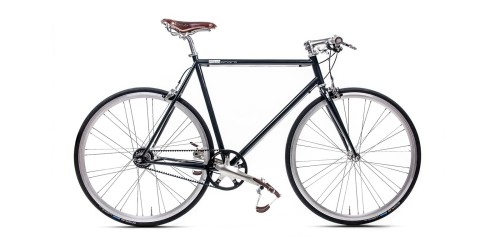 Urban Bike black Gates Carbon Drive Shimano 8 Gang
