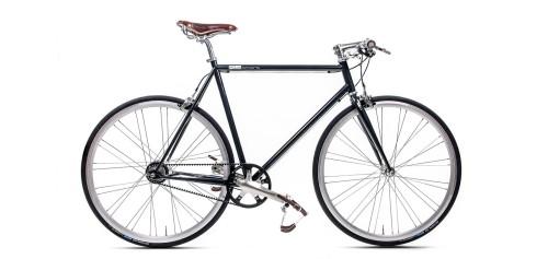 Urban Bike black Gates Carbon Drive Shimano 8 Gang