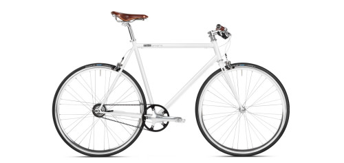 Urban Bike weiss Gates Carbon Drive