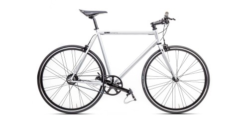 Urban Bike matt grau Shimano Alfine Brooks