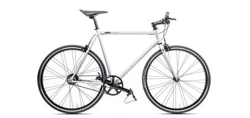 Urban Bike matt grau Shimano Alfine Brooks