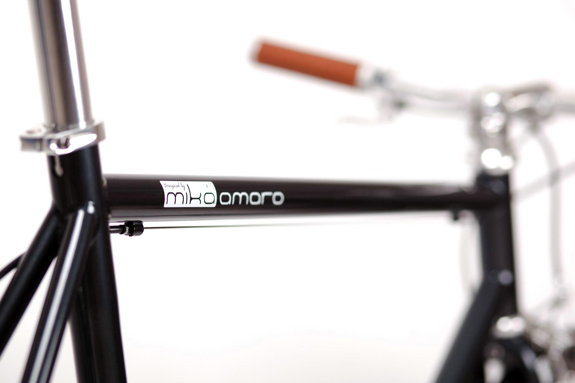 Urban Bike cushy black 3 Gang, schwarz