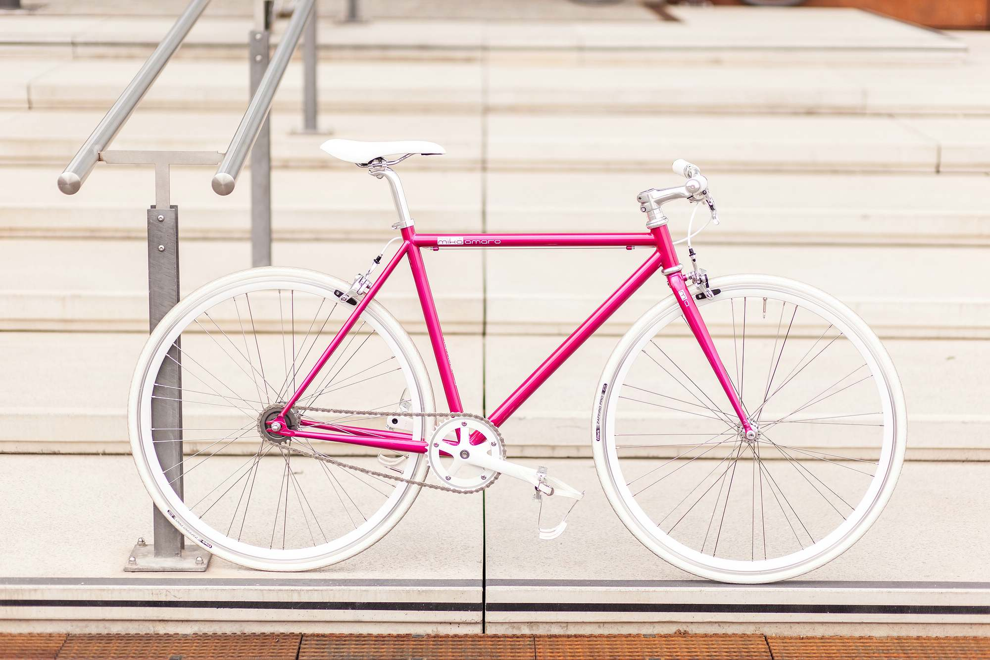 Single Speed Bike dressy pink