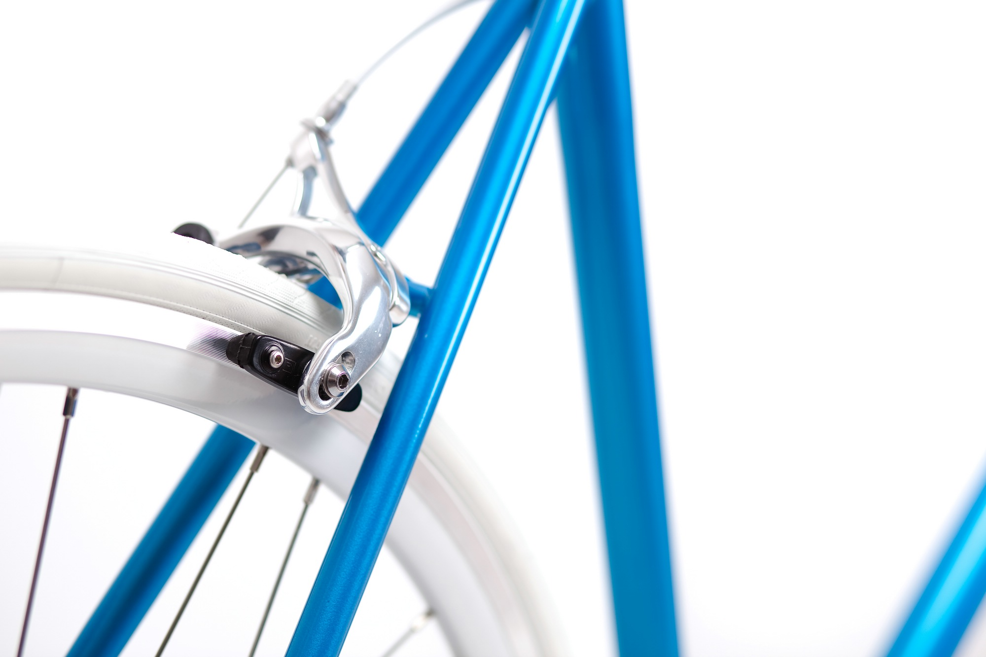 Single Speed Bike cruise turquoise, brakes