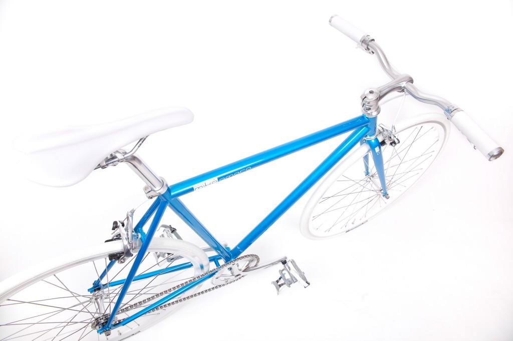 Single Speed Bike cruise turquoise and white