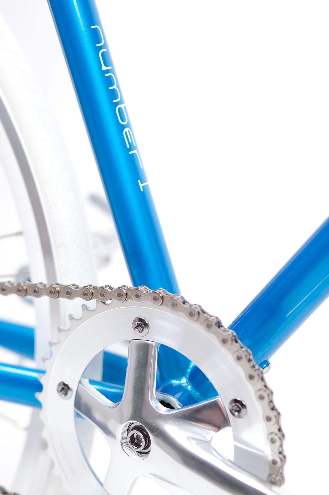 Single Speed Bike cruise turquoise, Unikat