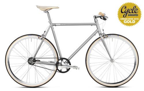 urban bike Gates Carbon Drive mikamaro grau