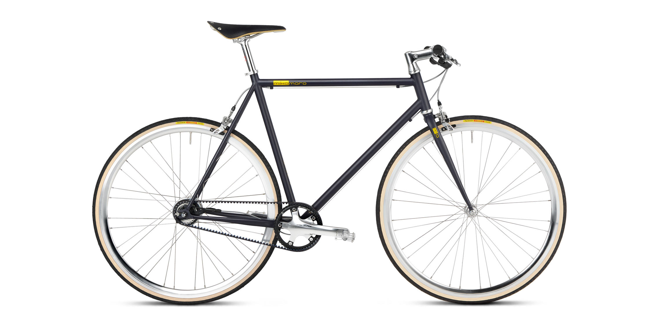 Urban Bike with Gates Carbon Drive and Brooks, Anniversary Edition