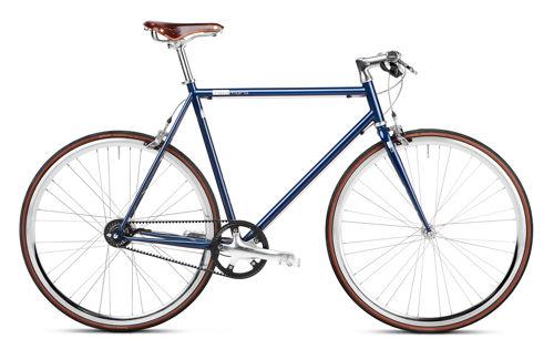 Urban Bike sapphire blue Gates Carbon Drive
