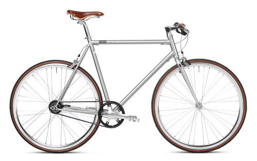 Urban Bike 8/11 Gang Shimano grau Gates Carbon Drive, Fahrrad mit Riemenantrieb