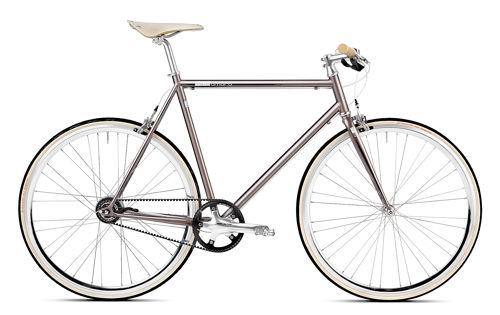 urban bike Gates Carbon Drive mika amaro grey