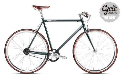 Urban Bike British Racing Green Brooks