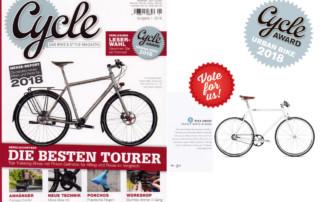 Urban Bike Cycle Award