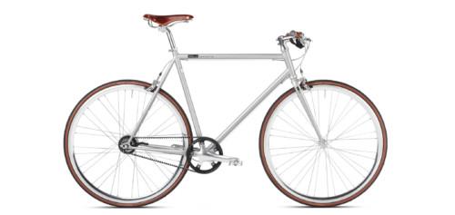 Urban Bike grey, Brooks, Shimano Alfine, Gates Carbon Drive, belt drive